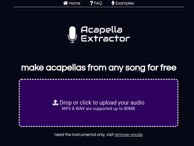 where can i get acapellas for free